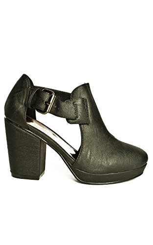 IKRUSH Womens New Cut-Out Ankle Boots
