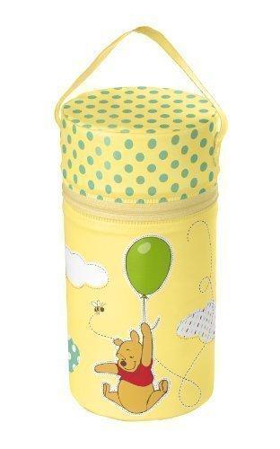 Thermos XXL giallo Disney Winnie Pooh Thermobox Scaldabiberon Borsa isolante
