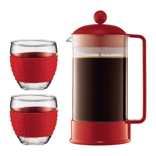 Bodum Brazil French Press Coffee Maker Red at Sears.com