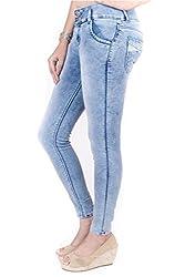 Indulge Women's Slim Fit Jeggings(EJSDAMS_M Stone_34)