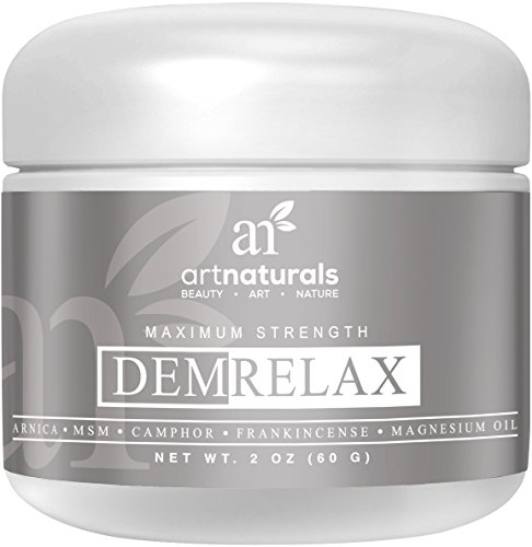 Art-Naturals-Demrelax-Pain-Relief-Cream-20-oz-Helps-Relieve-Sore-Joints-Muscles-Back-Neck-Pain-Arthritis-Maximum-Strength-Treatment-Arnica-MSM-Magnesium-Naturally-Derived-Ingredients