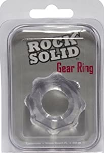 Rock Solid Gear Ring - Clear