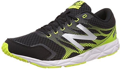 New Balance M590RY5-590 - Scarpe Running Uomo, Multicolore (Black/Yellow 065), 41.5 EU