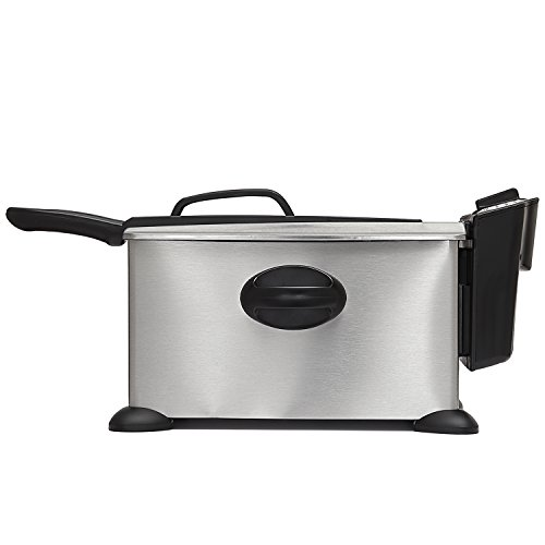 BELLA 3.5 Liter (14.5 Cups) Electric Deep Fryer, stainless steel (Sensio Bella Deep Fryer compare prices)