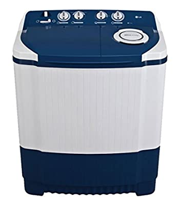 LG P7556R3FA Semi-automatic Top-loading Washing Machine (6.5 Kg, Dark Blue)