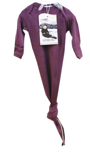 KB Designs Woombie Mod'Swad Shangrila Merino Sleeper, Purple, 20-25 Pound