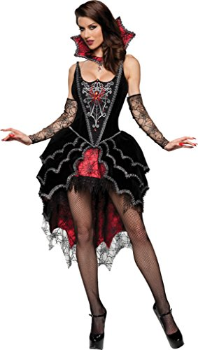 Incharacter Womens Webbed Mistress Sexy Witch Halloween Themed Fancy Costume