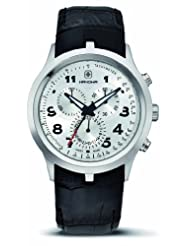Hanowa Men's 16-4004.04.001 Wimbledon Chronograph Leather Black Watch