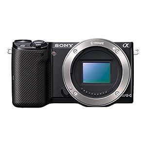 "Sony NEX-5TYB.CE Kit Reflex Numérique 3"" (7,62 cm) 16 Mpix USB/HDMI + Objectif 16-50 mm + 55-210 mm Noir"