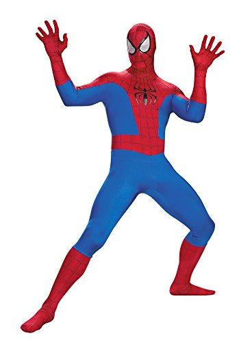Adult-Costume Spider-Man Rental Quality Adult Costume 50-52 Halloween Costume