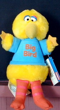 Sesame Street Rare Big Bird Plush Antique Over 25 Years Old (1983) - 1