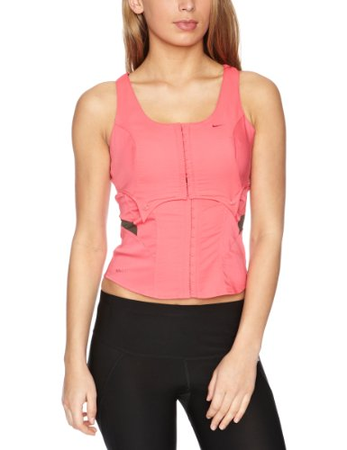 Nike Womens Dance Corset Top - Red, 10/12