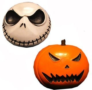 Neca Nightmare Before Christmas  inches Jack and Pumpkin inches  Magnet set - 1