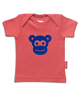 Amazon.com: Tapete Monkey Face Red Baby T-Shirt 86-92: Clothing