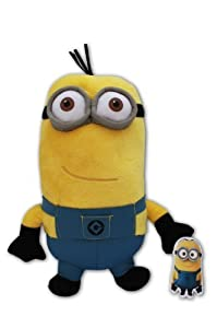 Kevin Minion 12'' Gru's Minions Toy Doll Plush Despicable Me 2 Minions Yellow Super Soft Henchmen Monster