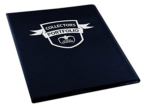 Portfolio 9-Pocket Standard-Size Black Card Game