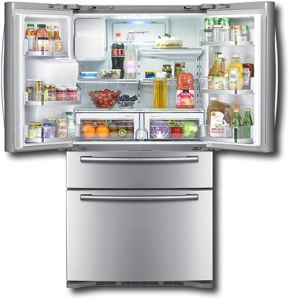 Samsung RF4287HARS 28 cu. ft. 4-Door French Door Refrigerator - Stainless Steel