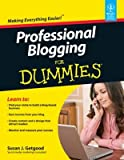 img - for Professional Blogging for Dummies book / textbook / text book
