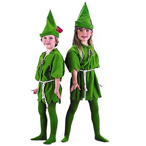 [Halloween Peter Pan Costume Cosplay (Child)] (Child Deluxe Peter Pan Costumes)