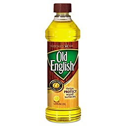 OLD ENGLISH 62338-75143 RAC75143CT Furniture Polish, Lemon Oil, 16 oz. Bottle (Pack of 6)