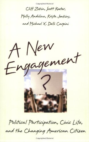 A New Engagement?: Political Participation, Civic Life,...