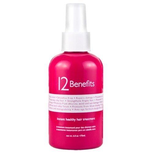 12 Benefits Instant Healthy Hair Treatment, 6 oz
