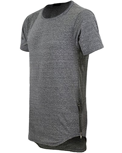 URBAN ICON MEN S EXTRA LONG T-SHIRT WITH