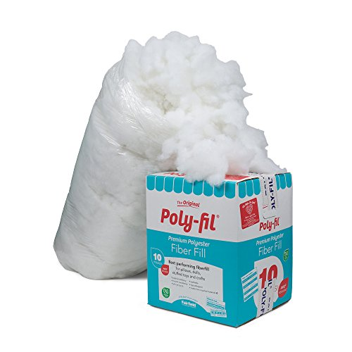 Cheap Fairfield 10-Pound Poly-Fil Premium Polyester Fiber, White