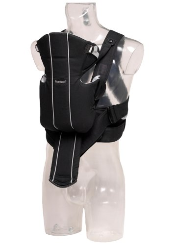 BABYBJÖRN Baby Carrier Active - Black/Silver