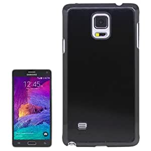 Crazy4Gadget Brushed Texture Plastic Case for Samsung Galaxy Note 4(Black)