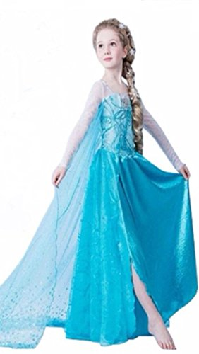 Beautiful Ice Princess Dress. (4-5 Years)