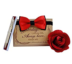 Tied Ribbons Valentine Day Gift For Girlfriend Valentine Day Gift