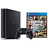 Playstation Slim 1TB Console + Grand Theft Auto V Bundle ( 2 - Items )