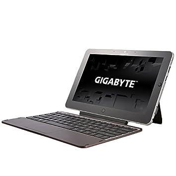 """Gigabyte Series S S1185 Tablette tactile 11"""" (27,94 cm) Intel Pentium Dual Core 2117U 1,8 GHz 64 Go Windows 8 Wi-Fi Gris/Noir"""