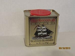 Old Savannah Seafood Seasoning 6oz Grocery Gourmet Food