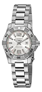 Longines Women's L32474766 HydroConquest White Dial Watch by Longines
