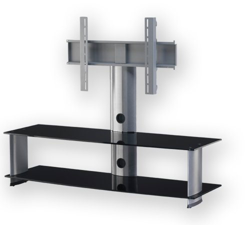 'Sonorous PL 2000 B SLV TV Stand for 60 Television