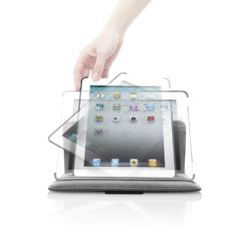 Targus Versavu Case / Stand for iPad2, iPad 3 and iPad 4 with Retina display, Wi-Fi / 3G Model 16GB, 32GB, 64GB THZ156EU (Black)