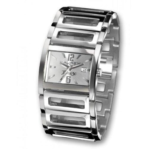 Haurex Italy XA344DS1 - Reloj de mujer de cuarzo, correa de acero inoxidable color plata
