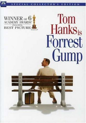 Image result for forrest gump dvd cover