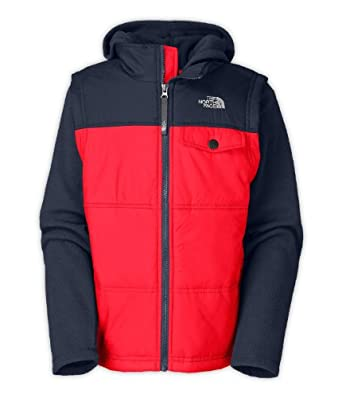 The North Face Boys Vesty Vest Fleece Hoodie by The North Face