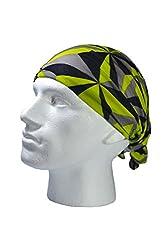 GEOMETRIC DESIGN SCARF- RUFFNEK® Multifunctional Neckwarmer Ski mask - Men, Women & children from RUFFNEK® OUTDOORS