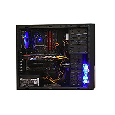 Ant PC Anochetus SL600I Basic Editing & Gaming Desktop Computer with liquid cooled Intel core i5 6600 3.3 Ghz,...