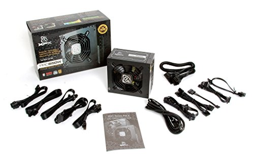 Xfx pro black edition 850 w 80+ gold certified fully-modular atx.