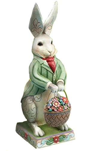 Bunny 4 Seasons Basket Statue 4013316