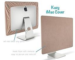 Kuzy - SAND Brown Screen Cover for iMac 21.5\