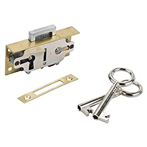 Lock, Cabinet, Flush Mount