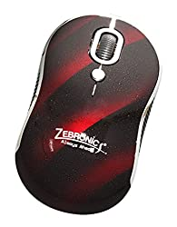 Zebronics Candy Optical Mouse (Red)