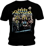 Official T Shirt STEEL PANTHER Metal HOLLYWOOD Distressed All Sizes