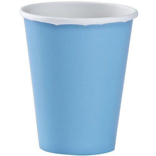 Party Dimensions 71182 12 Count Paper Cup, 9-Ounce, Light Blue (Light Blue Party Cups compare prices)